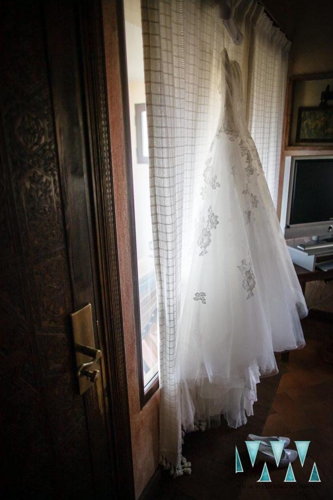 Molino de Santillan wedding dress