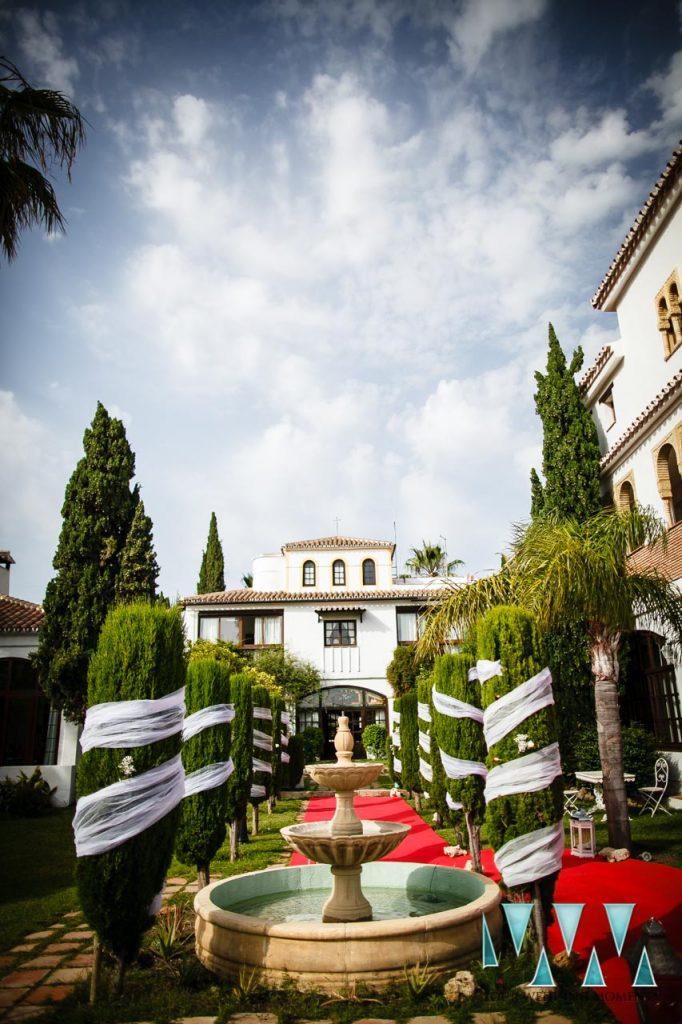 Molino de Santillan wedding gardens