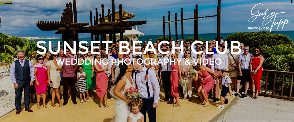 Sunset Beach Club wedding venue Benalmadena
