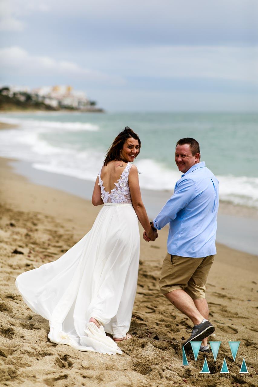 Elopement Spain - Beach Wedding Photography