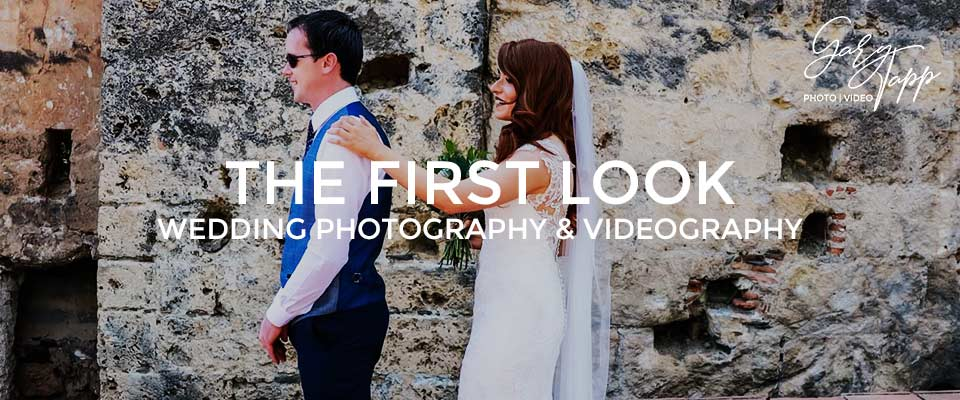 Wedding First Look Photography and Videography