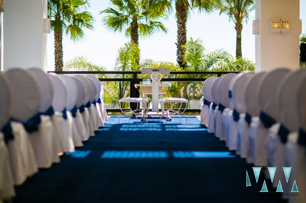 H10 Estepona Palace wedding