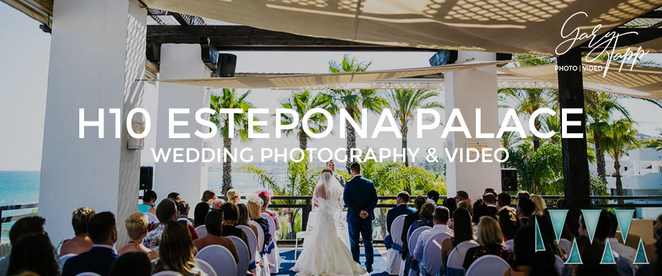 H10 Estepona Palace wedding Photography & Videography
