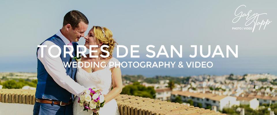 Torres De San Juan Nerja wedding photography