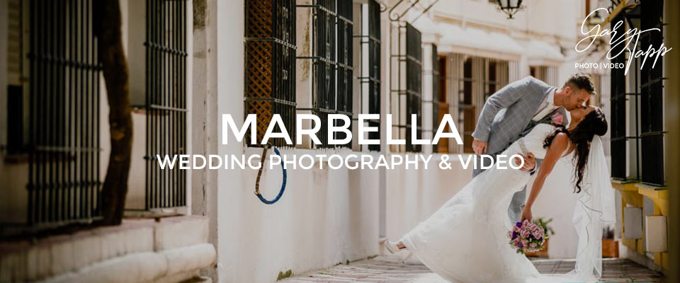 Bride & Groom Wedding Photography Marbella old town