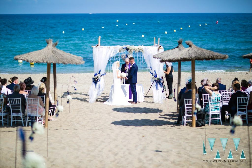 Florida Mijas Beach Wedding