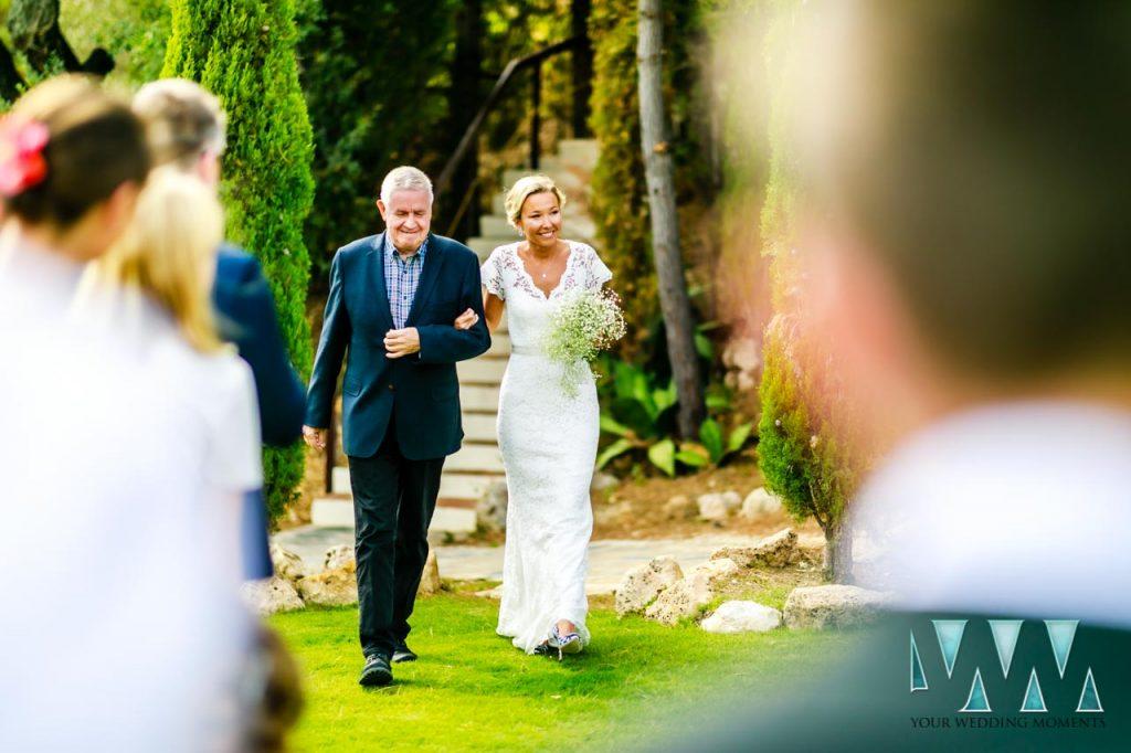 Villa Candela en la Colina wedding