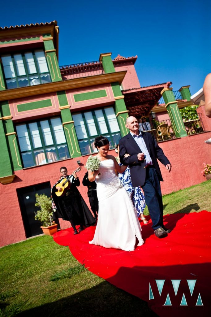 Hacienda La Herriza Hotel wedding