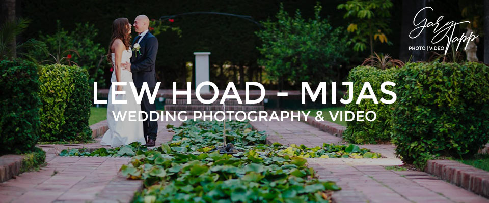 Lew Hoad wedding photography & Video in Mijas