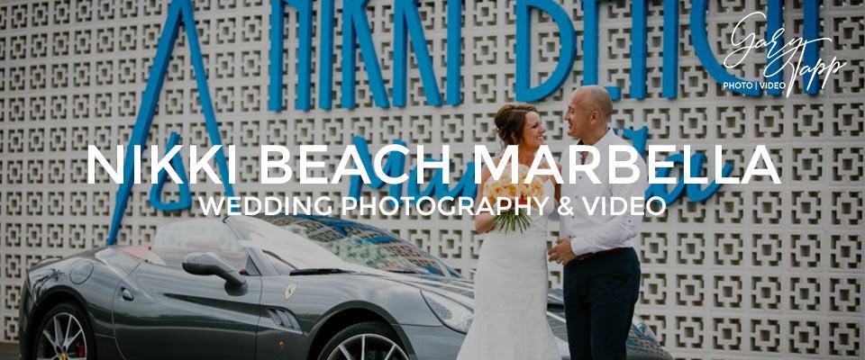 Nikki Beach Marbella wedding venue and Beach Club