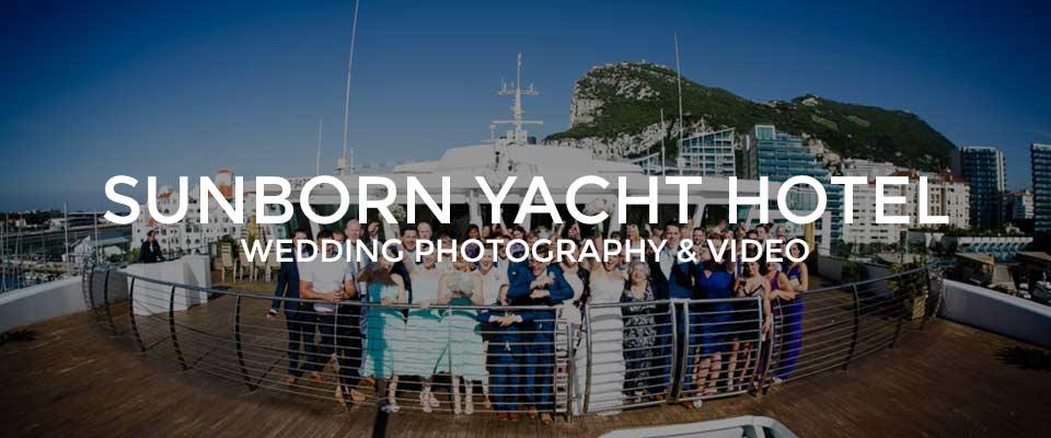 sunborn hotel gibraltar wedding photographer