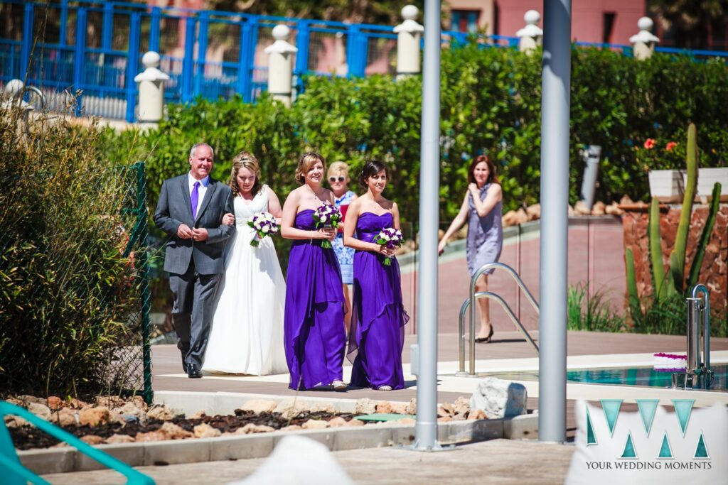 Hydros Hotel Benalmadena Wedding