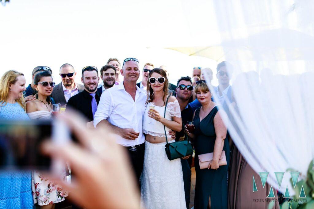 Terraza Mar Bella Nerja wedding venue
