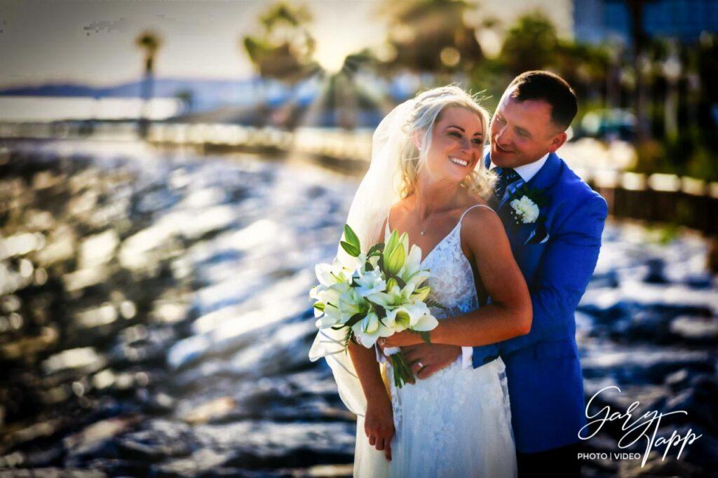 Beach wedding on the Costa Del Sol