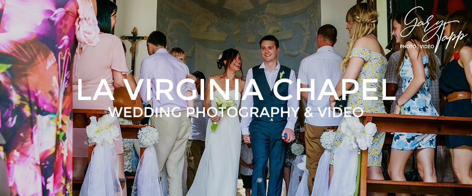 Ceremony at the La Virginia wedding Chapel in Marbella