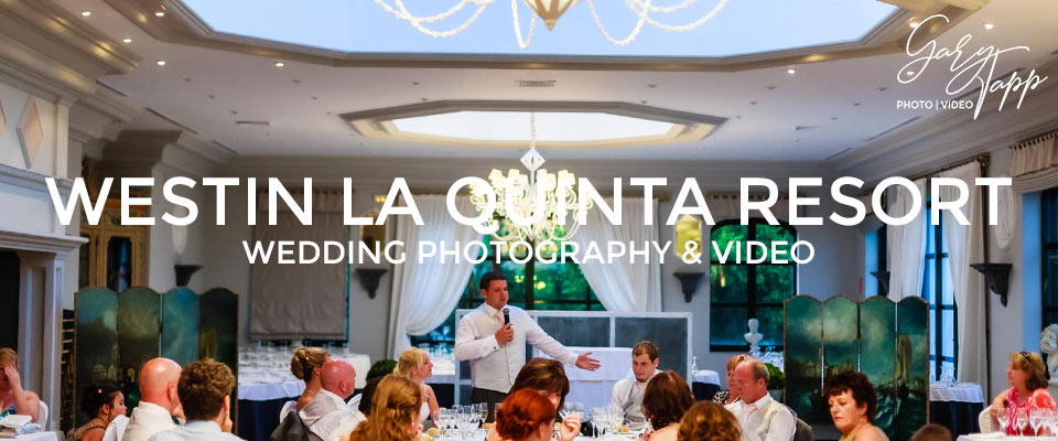 Wedding speeches at the Westin La Quinta Golf Resort in Benahavis