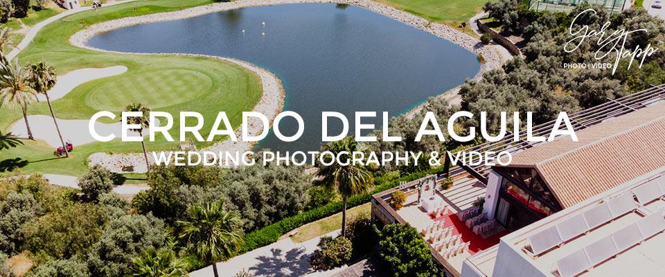 Aerial view of the Cerrado Del Aguila Wedding Venue in Mijas
