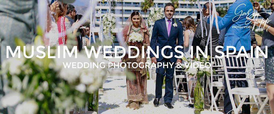 Professional wedding photography at mulism weddings marbella, Spain